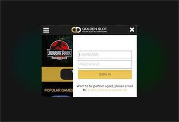 Goldenslot บนมือถือ-1