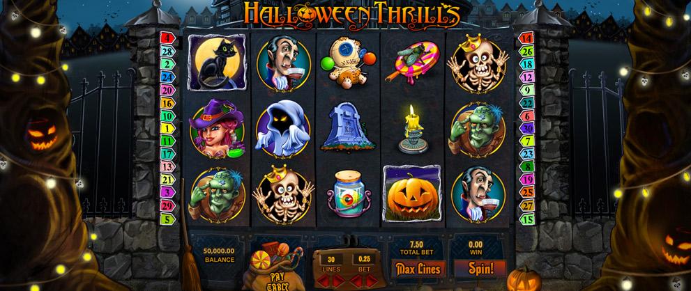 รีวิว เกมสล็อต Halloween Goldenslot