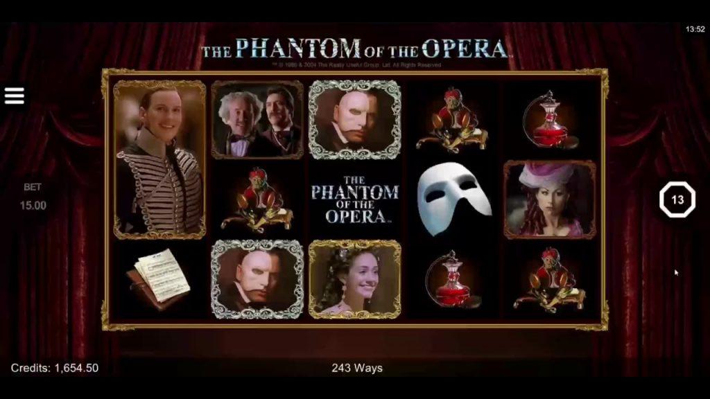 The Phantom of the Opera สล็อตออนไลน์